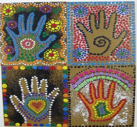 Hand Mosaic