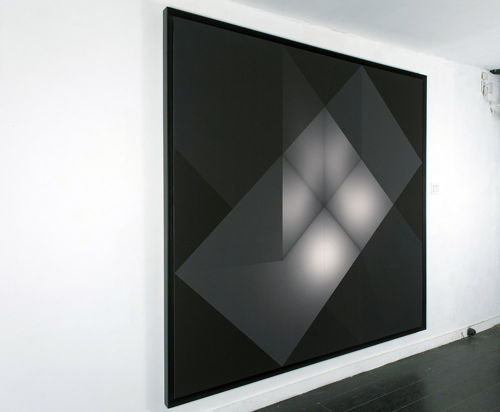 "Craig Kalpakjian  Chronotope (render 5), 2015, inkjet on paper, 88""x88"" (224 x 224cm)[edition 1 or 3 +1ap]"