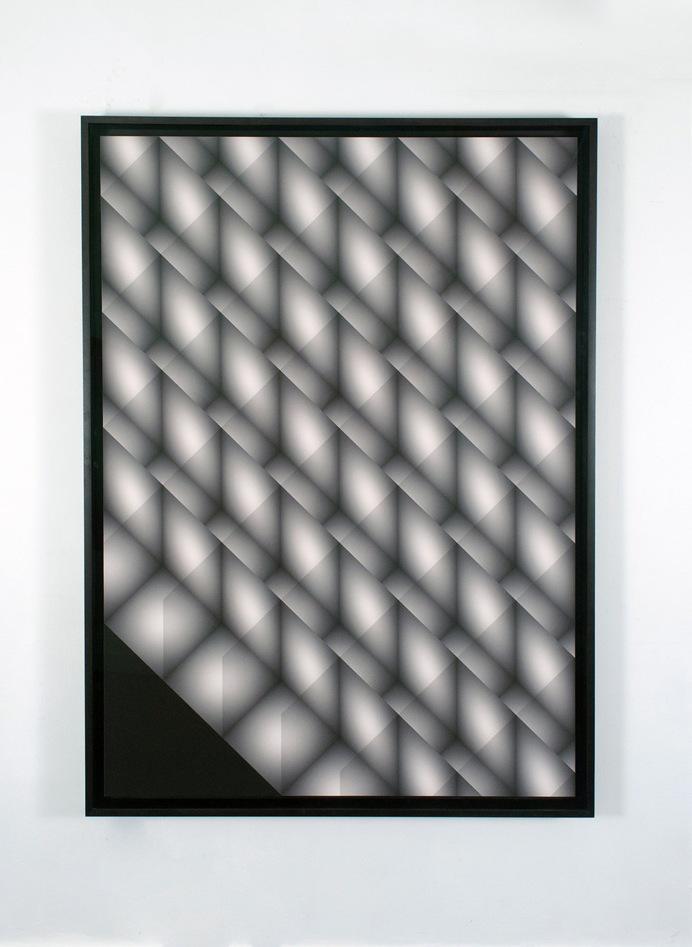 "Craig Kalpakjian  Units (render 1), inkjet on paper, 66.5"" x 44""(169 x 112cm) [edition 2 or 3 +1ap"