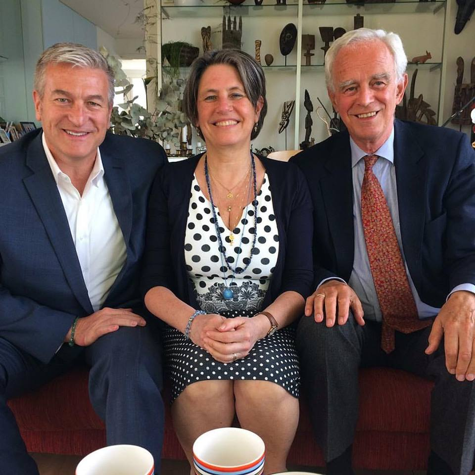 """Venwoud International"" Amsterdam, Netherlands  - Left to Right; Jeffery C. Olsen, Anne Marie Voorhoeve (President of The Club of Budapest), Pim van Lommel, MD (Acclaimed Cardiologist, Author, Speaker and Leading European NDE Researcher)"