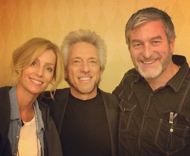 Scottsdale, Arizona U.S.A. - Left to Right; (Tonya M. Olsen (Acclaimed Interior Designer/Author) Gregg Braden (New York Times Best Selling Author/ Speaker and Spiritual Teacher) Jeffery C. Olsen