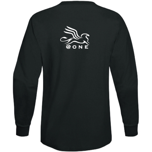 @ONE Long Sleeve 100% Cotton T-Shirt |  $20.00