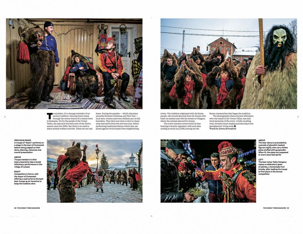 Diana Zeyneb Alhindawi_Bear Dance_Romania_Sunday Times Magazine_page 38-39.jpg