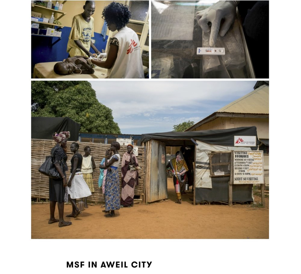 CLICK on title below to link to full article with photo essay     Searching for Malaria Care in South Sudan  | Medicins Sans Frontieres / Doctors Without Borders, Oct 28, 2015