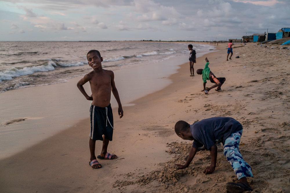 Westpoint slum, Monrovia, Liberia. Sept 25, 2016.