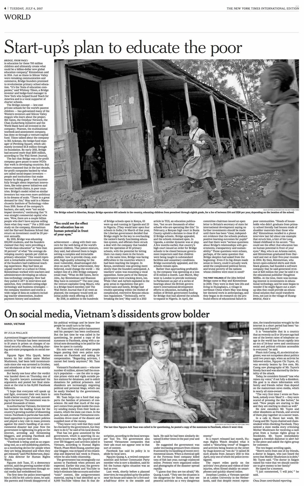 Diana Zeyneb Alhindawi_2017_07_04_International New York Times_page 4 s_bridge education africa.jpg