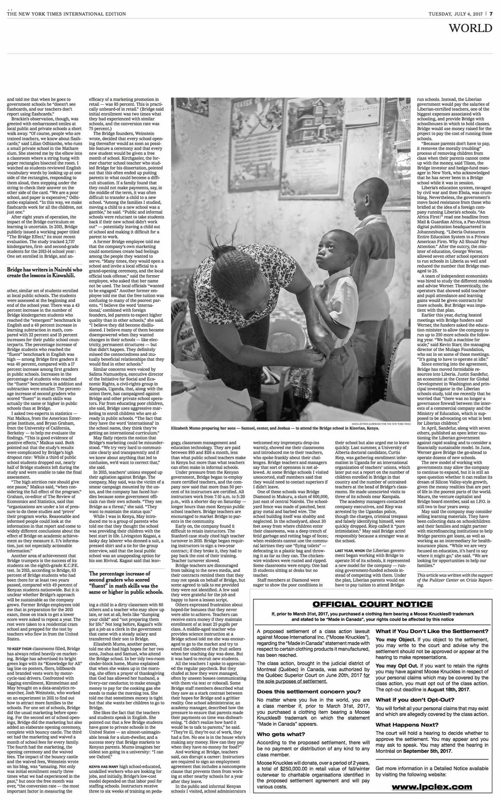 Diana Zeyneb Alhindawi_2017_07_04_International New York Times_page 7 s_bridge education africa.jpg