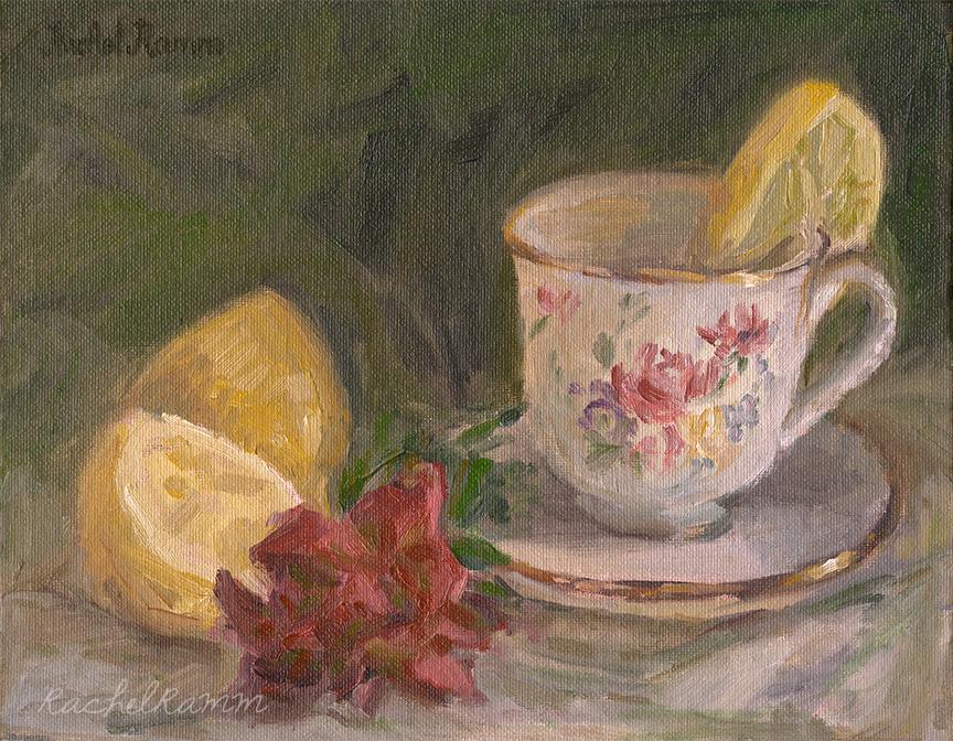 Hot Tea & Lemon