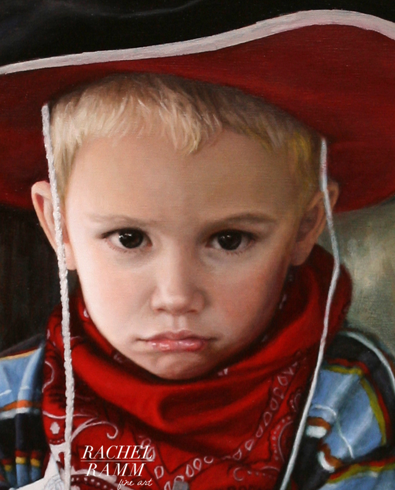 Major the Cowboy (detail)