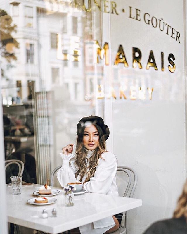 Pain Au Chocolate taste just like in Paris- extra buttery and flaky deliciousness! Seriously you guys the brunch and pastries are too good💕 @lemaraisbakery  you guys are the real deal 🙌🏻💕#liketkit @liketoknow.it http://liketk.it/2txOA #LTKunder100 #sf