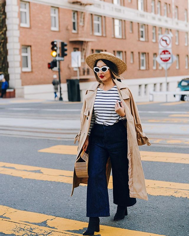 My current obsession over wide leg anything especially pants & jeans, is real. Not sure if I'll ever get over it 🤷🏻‍♀️ and I'm a-okay with that 💁🏻‍♀️ @liketoknow.it #liketkit http://liketk.it/2tGsl #castmejcrew