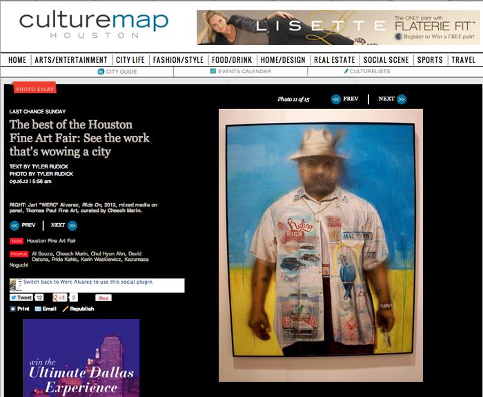 HFAF Best of on Culturemap Houston — WERC