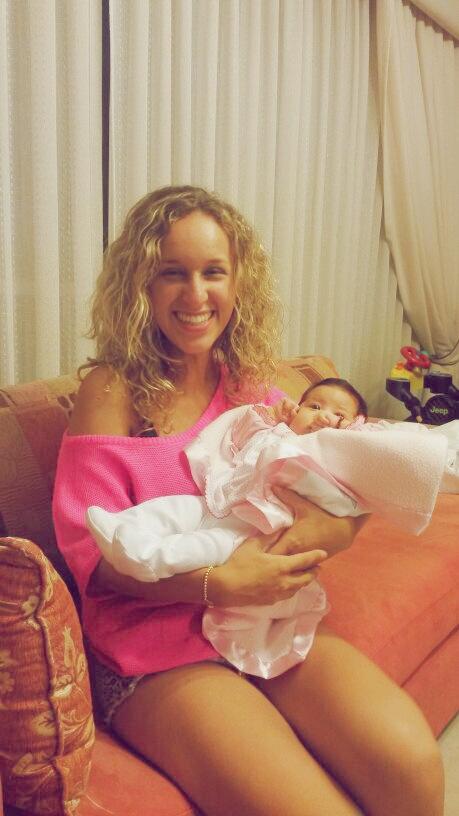 Emilia Killari la hijita preciosa de Ale!
