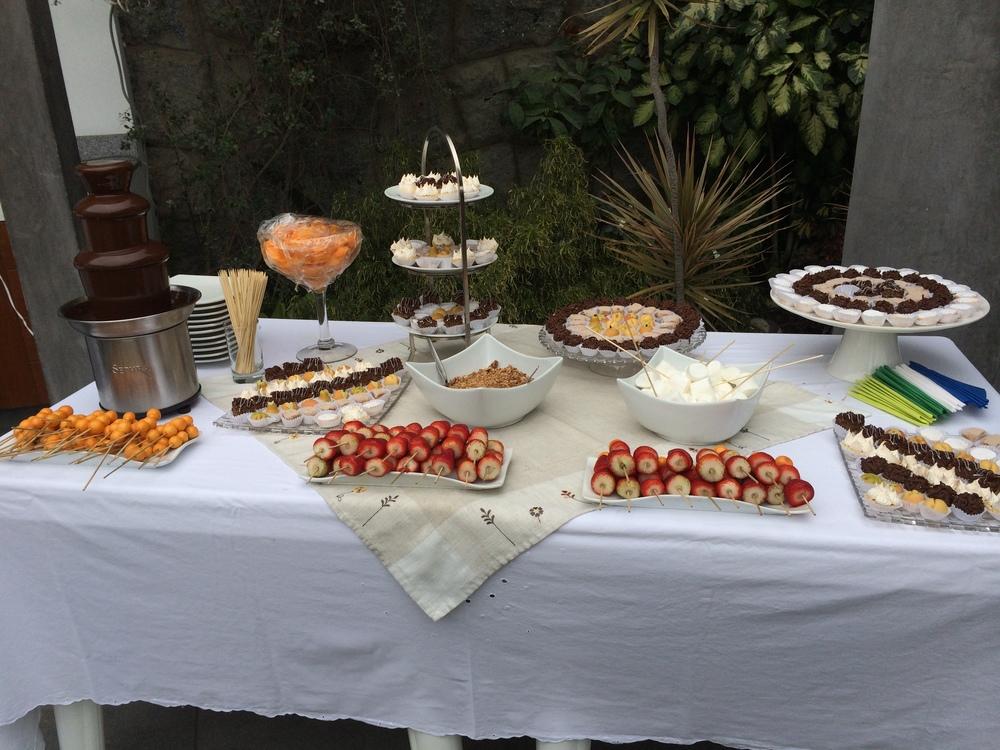 los dulces que estuvieron buenísimos!