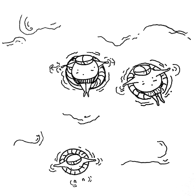 Tiny Floaters
