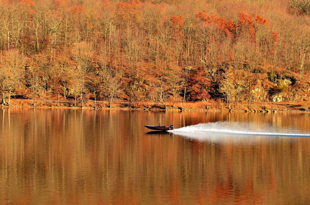Taken on Whaley Lake in Pawling, NY