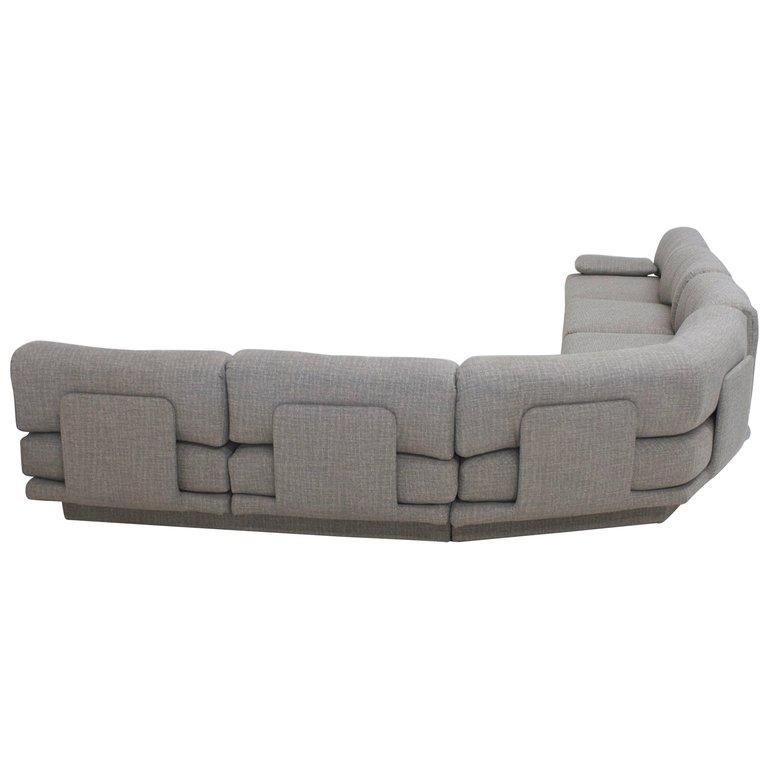 Enjoyable Sold 1970S Sculptural Sectional Sofa Flow Modern Creativecarmelina Interior Chair Design Creativecarmelinacom