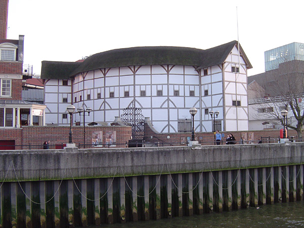 The reconstructed Globe Theatre, London.