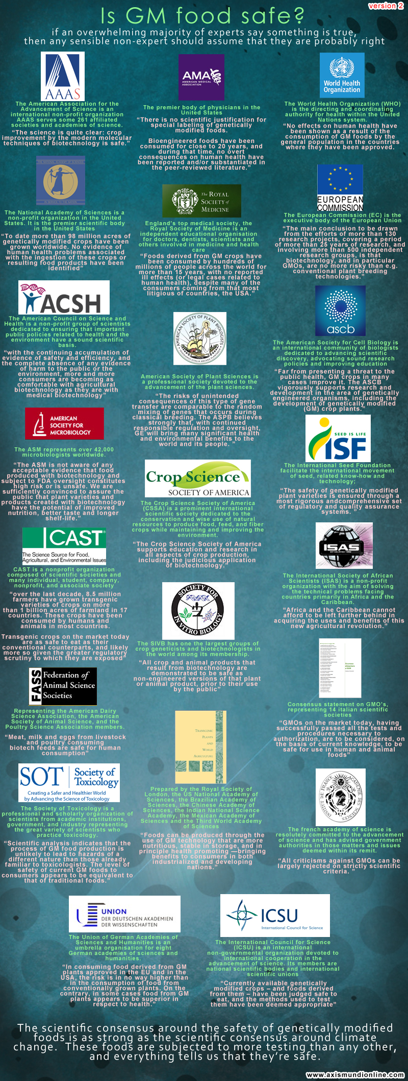 the growing concerns over the safety of gm foods