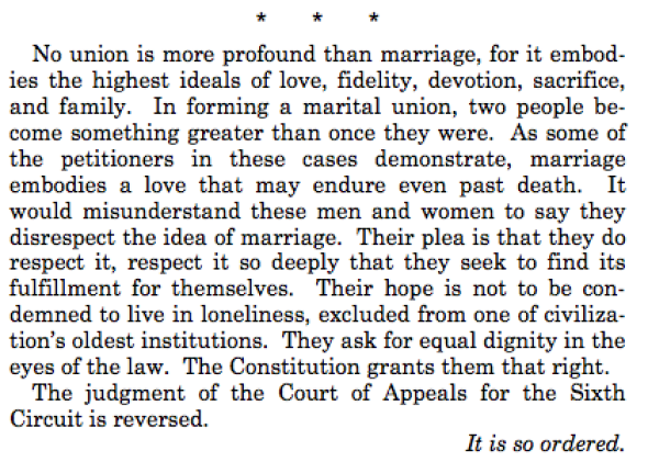 Justice Anthony Kennedy Closing Remark