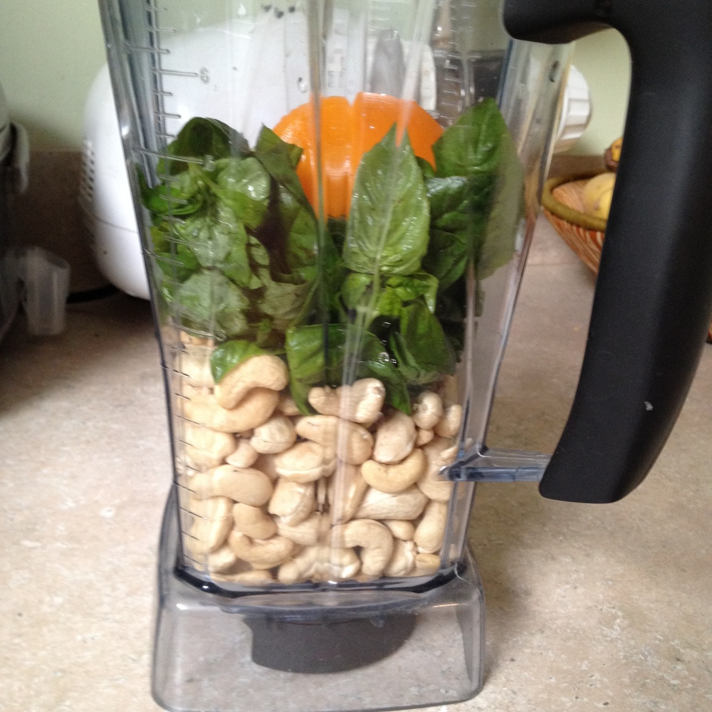 Raw Cashew Pesto