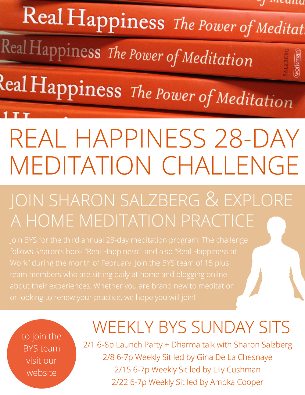 Real Happiness Sharon Salzberg