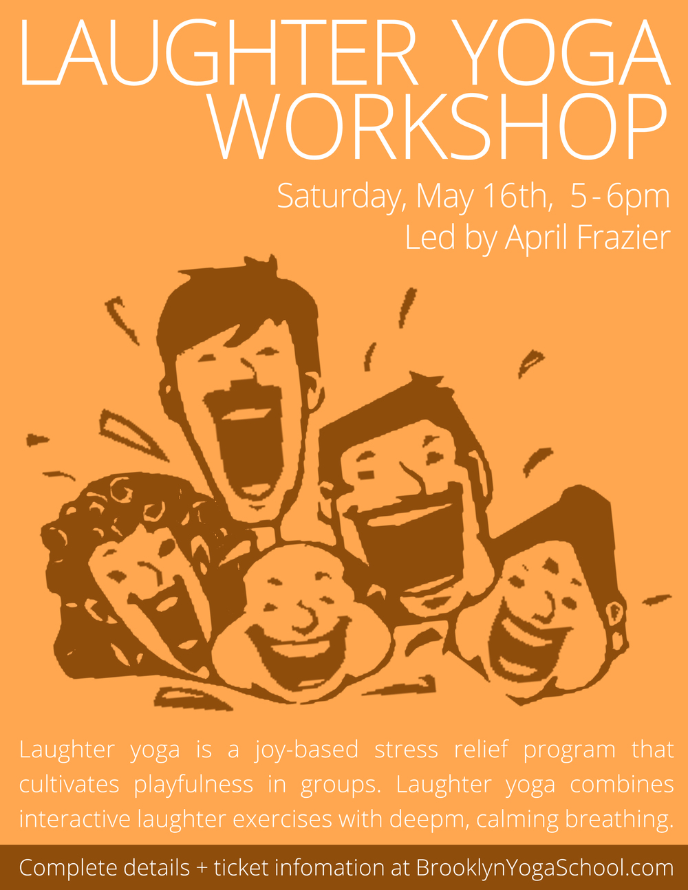 Laughter Yoga Brooklyn Yoga School