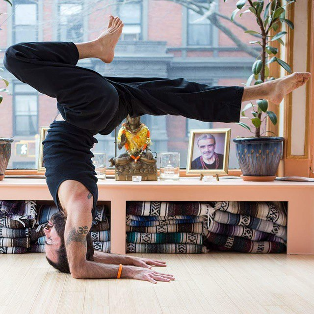 Jerome Burdi Brooklyn Yoga School