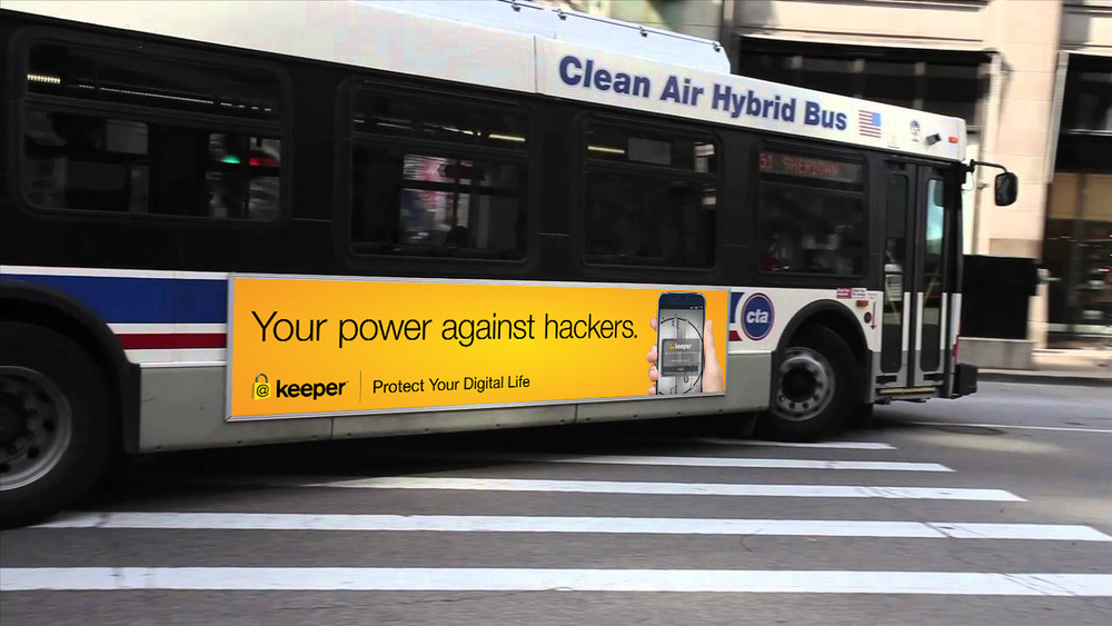 Keeper Security - CTA Ad