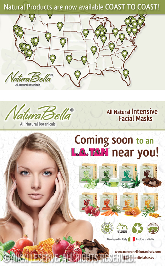 NaturaBella Marketing Materials
