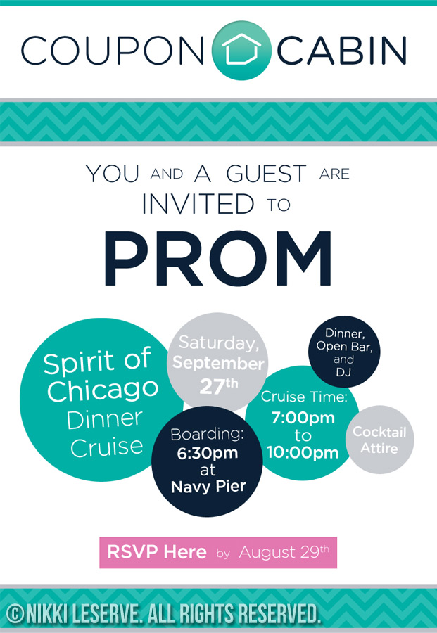 CouponCabin Prom Invite