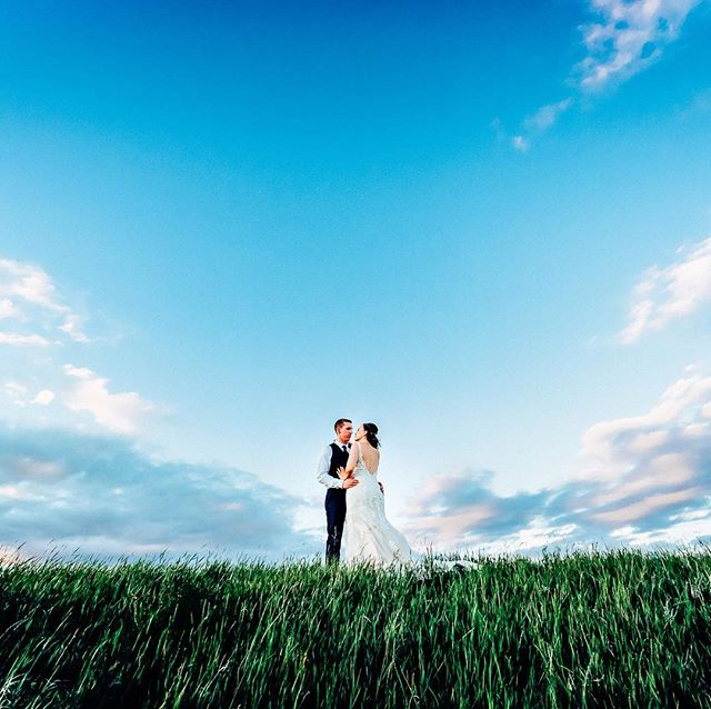 Alberta skies can make your wedding day just that much better!