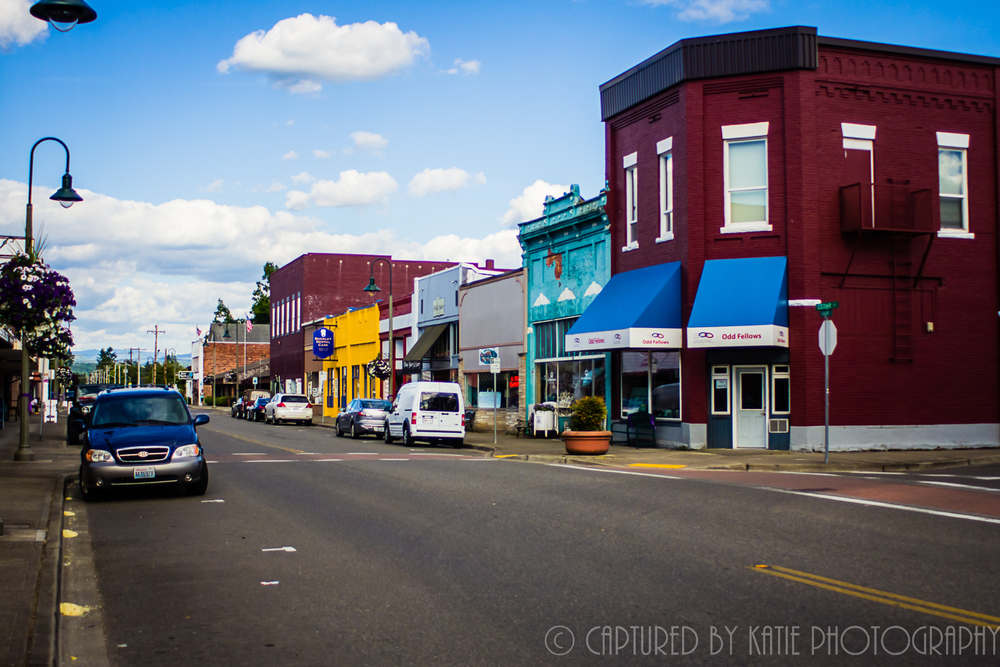 Buckley Main Street By Captured By Katie Photography, Bonney Lake Photographer