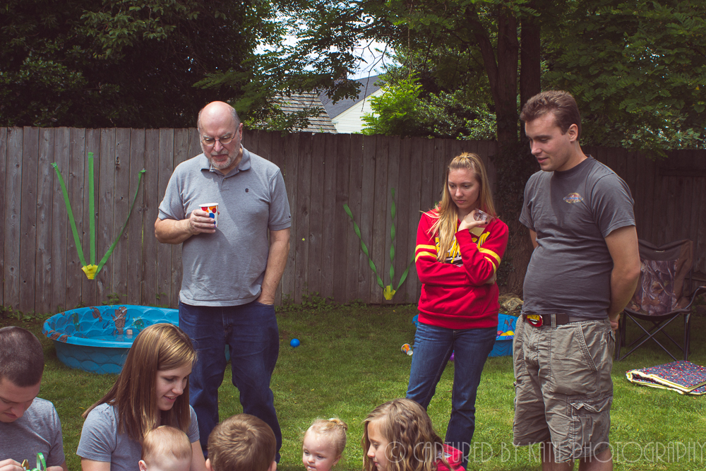 Grandpa, Jeremy, and Heather By Captured By Katie Photography, Bonney Lake Photographer