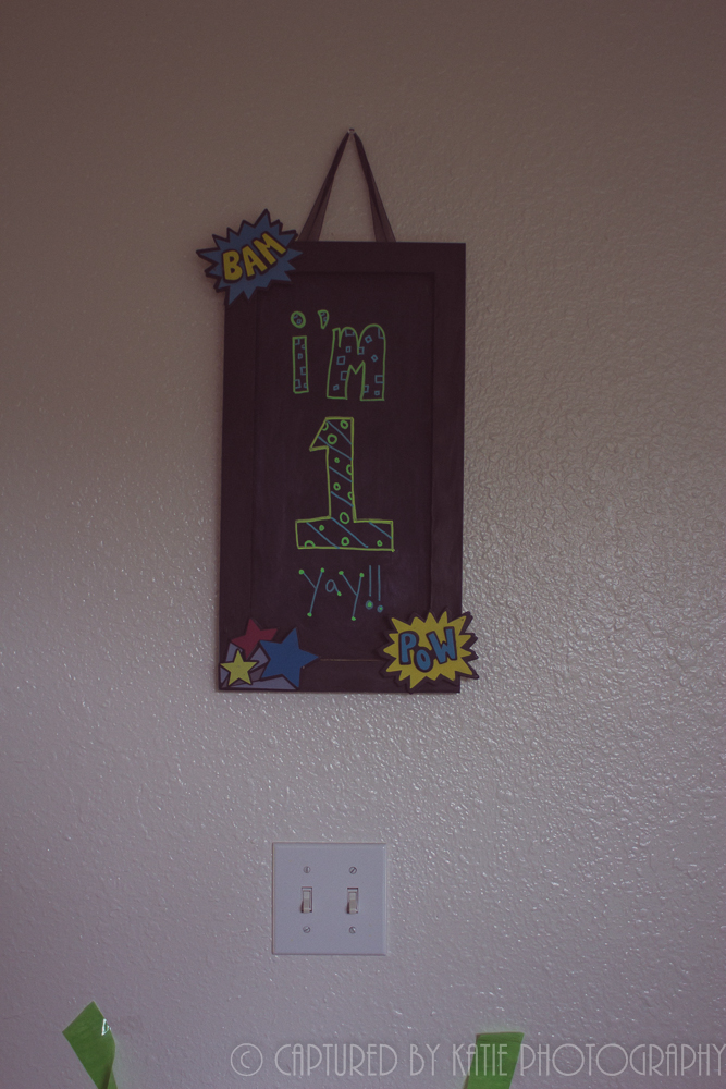 Max's Growth Chalkboard By Captured By Katie Photography, Bonney Lake Photographer