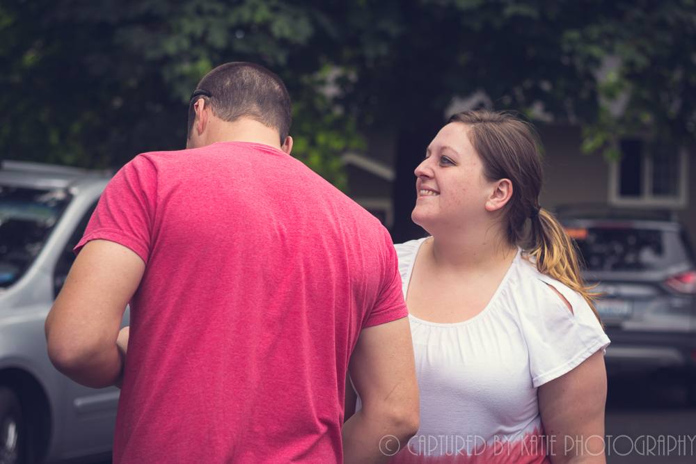 Sibling Goofiness By Captured By Katie Photography, Bonney Lake Photographer