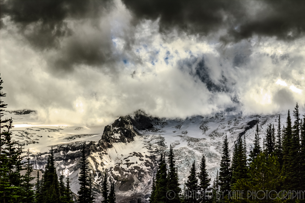 Mt Rainier By Captured By Katie Photography, Bonney Lake Photographer