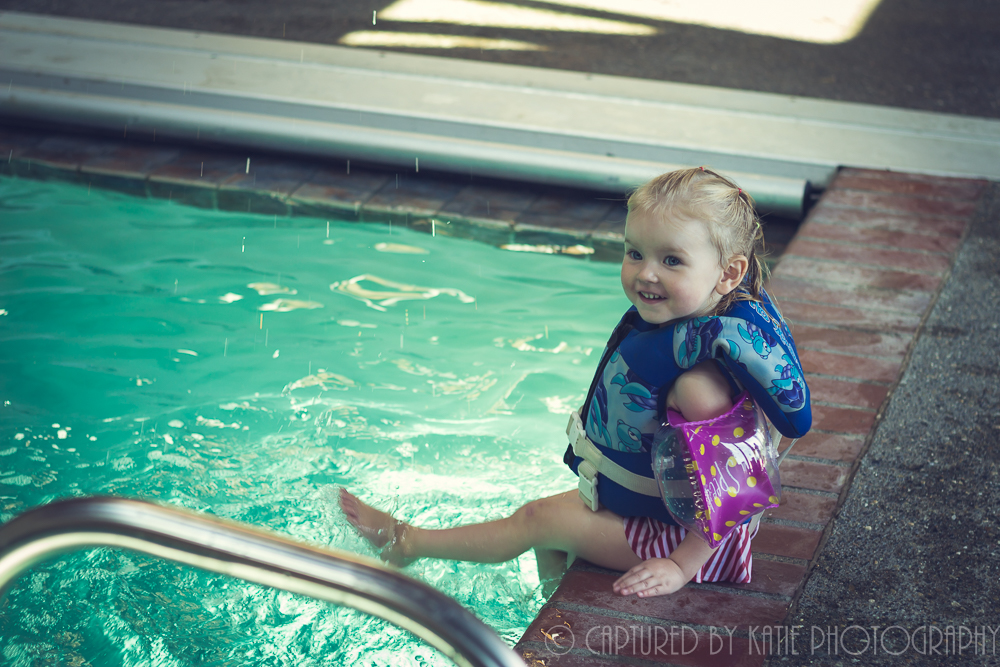 Hadley At The Pool By Captured By Katie Photography, Bonney Lake Photographer