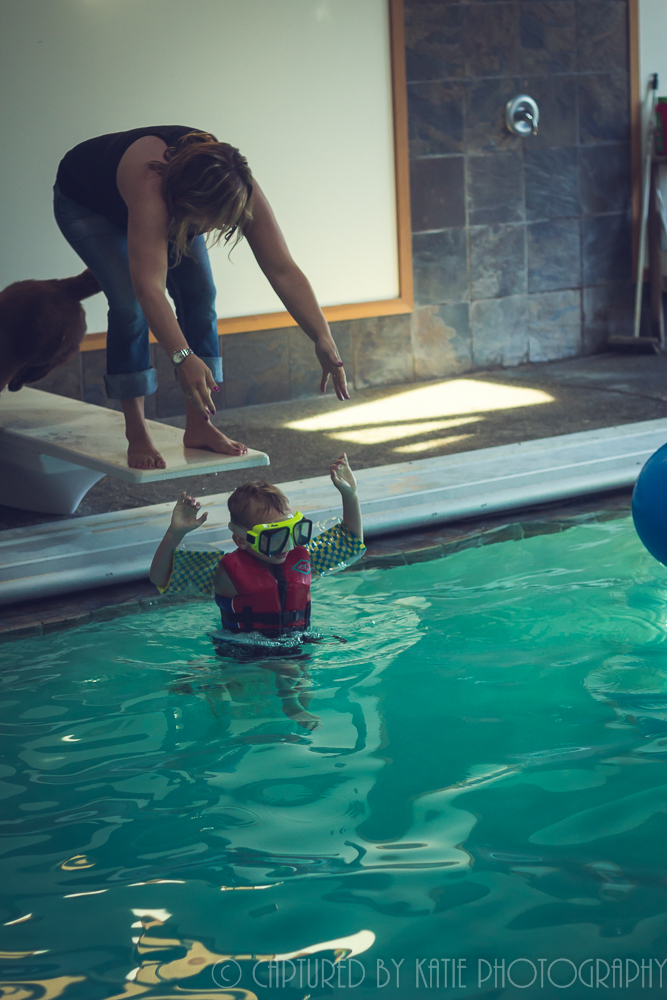 Sink or Swim By Captured By Katie Photography, Bonney Lake Photographer