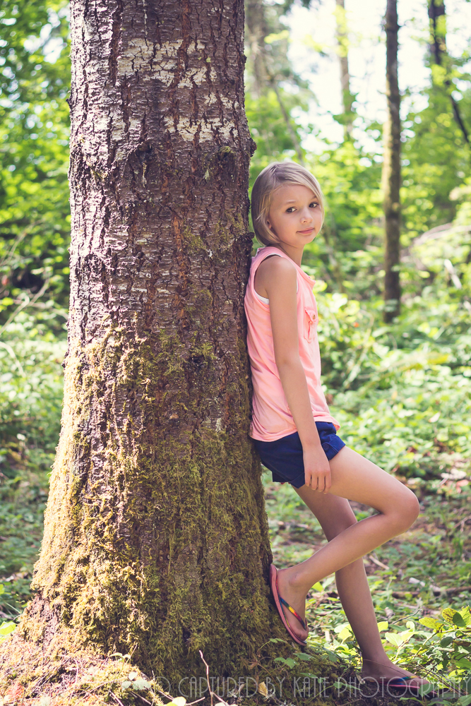 Addy-tude By Captured By Katie Photography, Bonney Lake Photographer