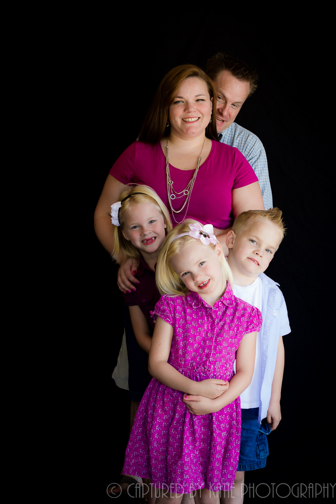 The Fam By Captured By Katie Photography, Bonney Lake Photographer