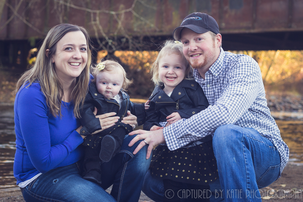 The Haubrichs By Captured By Katie Photography, Bonney Lake Photographer