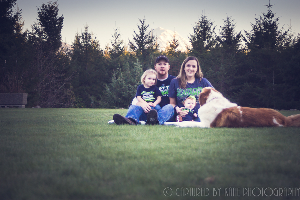 Family By Captured By Katie Photography, Bonney Lake Photographer