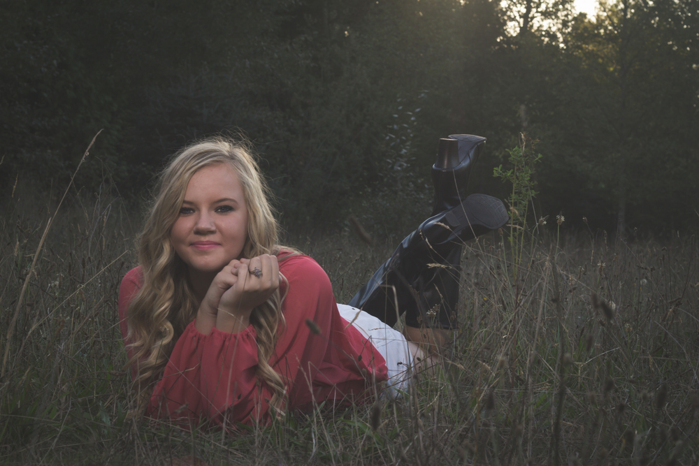 Haylee by Captured By Katie Photography, Bonney Lake Senior Photographer