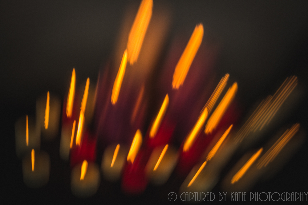 Candles In Color by Captured By Katie Photography, Bonney Lake Photographer