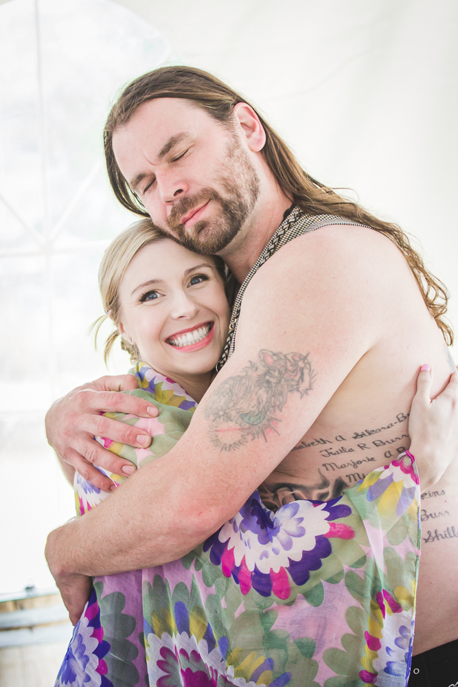 Groom and Sister, Viking Wedding By Captured By Katie Photography, Bonney Lake Photographer