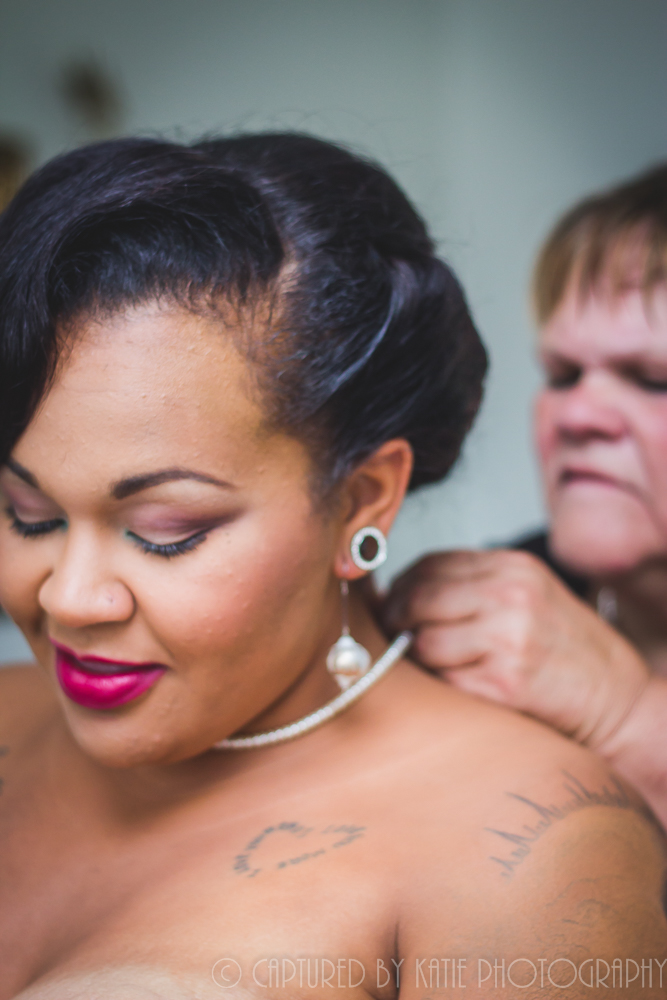Getting Ready With Mom By Captured By Katie Photography, Bonney Lake Photographer