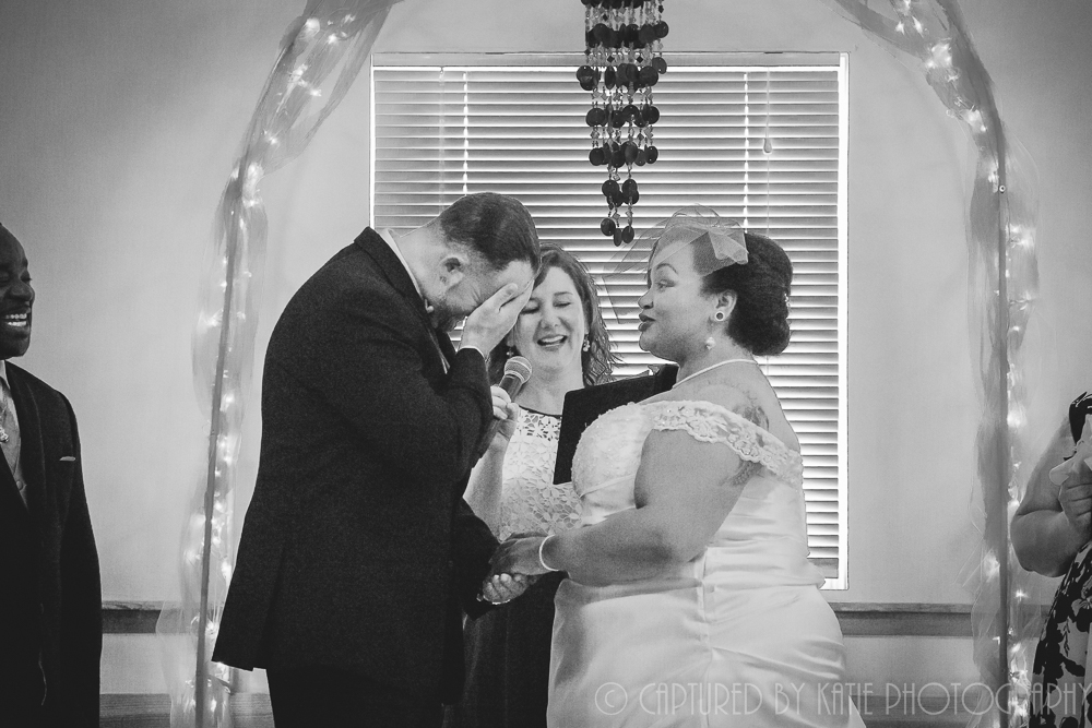 I Take You To Be My Husband...NO!  Wife!  By Captured By Katie Photography, Bonney Lake Photographer