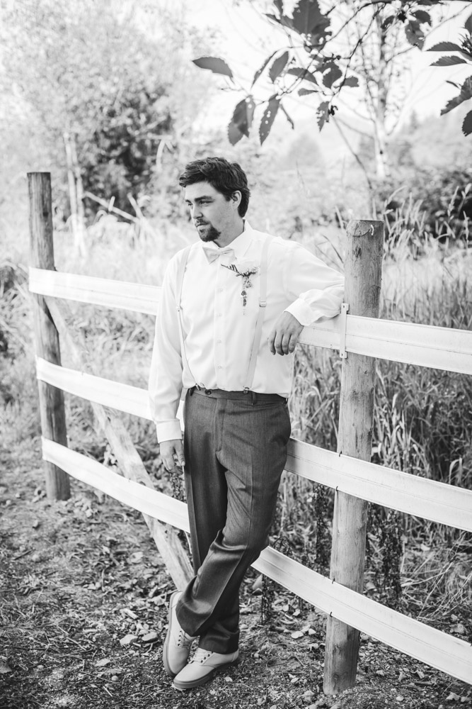 Groom By Captured By Katie Photography, Bonney Lake Wedding Photographer