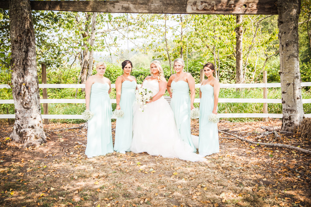 Ladies By Captured By Katie Photography, Bonney Lake Wedding Photographer